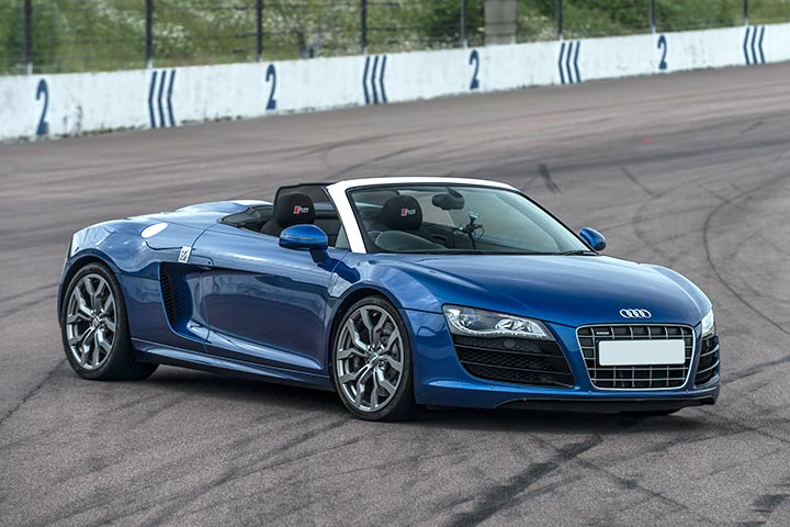 Audi R8 Driving Experience at Prestwold Driving Centre, Leicestershire