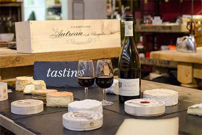 Cheese Tasting with Matching Wines for Two