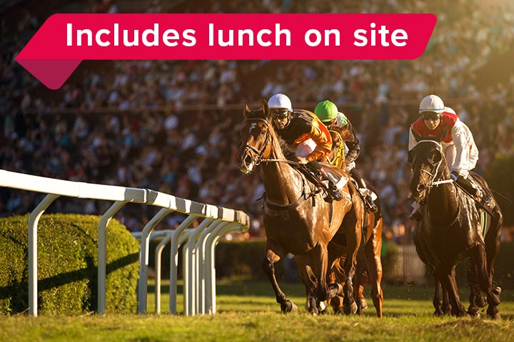 Classic Race Day at Lingfield Park with Lunch for Two