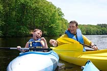 Family Canoeing Experience in North Wales