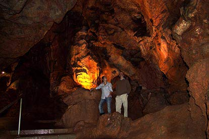 Family Day Out at Kents Cavern