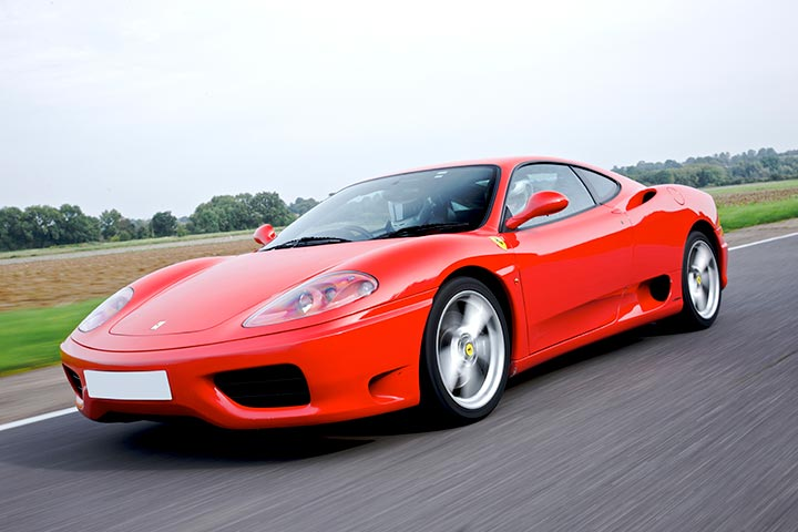 Ferrari Driving Experience at Prestwold Driving Centre, Leicestershire