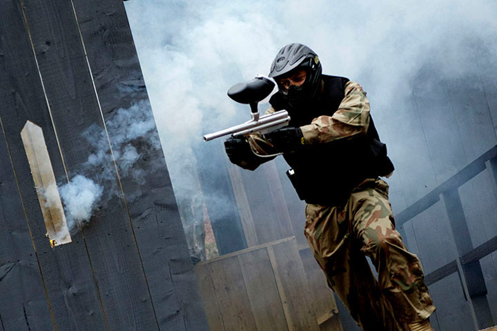 Junior Paintball Experience for Six (10 to 12 year olds)