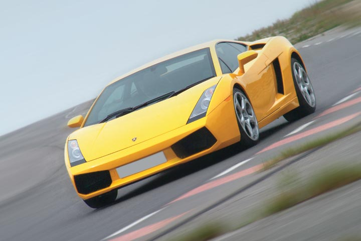 Lamborghini Driving Experience at Prestwold Driving Centre, Leicestershire