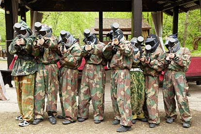 Mini Paintball Experience for Six (8-10 year olds)