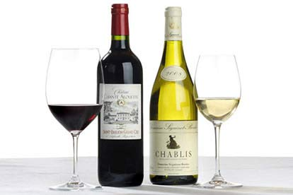 Chablis & Claret Wine Box