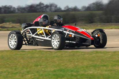 Aston Martin or Ariel Atom Thrill