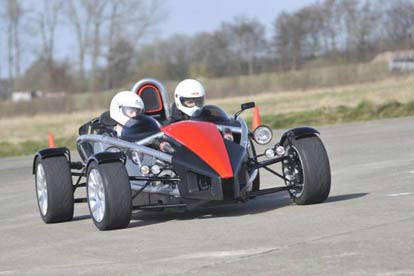 Ariel Atom High Speed Ride
