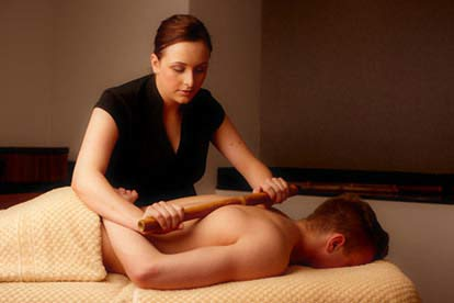 Spa Day with Bamboo Massage