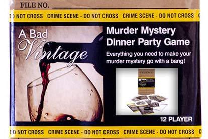 Murder Mystery Dinner Box Set