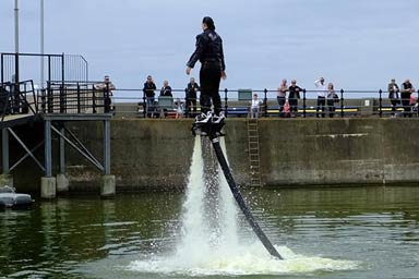 Flyboarding Experience for Two Thumb