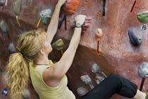 Indoor Rock Climbing for Two Thumb