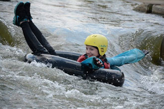 White Water Tubing for 2