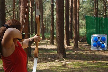 Archery, Rifle Shooting and Axe Throwing