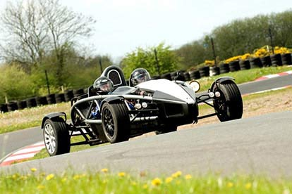 Ariel Atom Head to Head for Two
