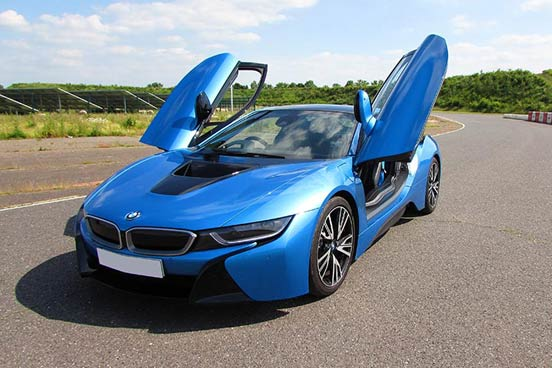 BMW i8 Driving Experience at Dunsfold Aerodrome, Surrey