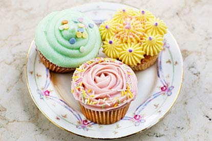 Cookie Girls Cupcake Decorating Class