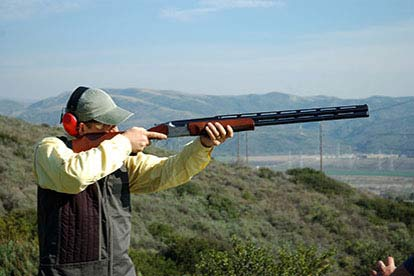 Clay Pigeon Shooting with 50 Clays
