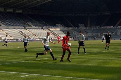Football CV Membership and Trials Day