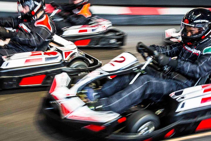 50 Lap Karting Race for Two