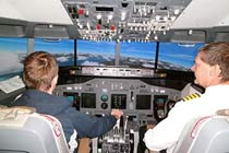 Two Hour Aeroplane Flight Simulator