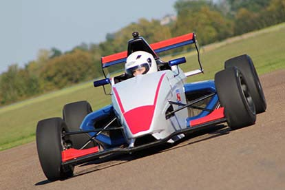 Formula Renault Driving Thrill and Typhoon-Turbo Passenger Ride