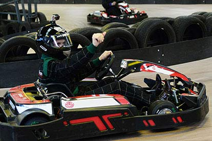 Electric Go Karting at Farnborough