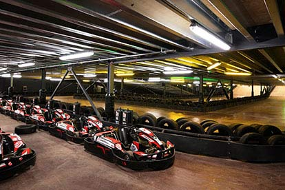 Electric Go Karting at Farnborough