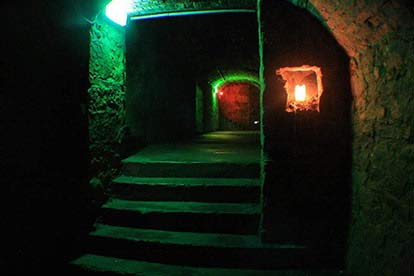 Haunted Vaults and Graveyard Tour for Four