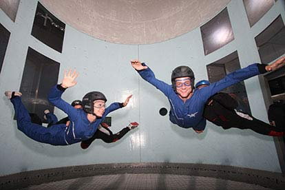 indoor skydiving for two
