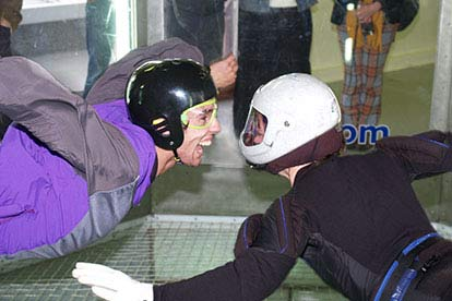 indoor skydiving experience for two
