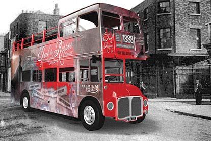 Haunted London Bus Tour for Two