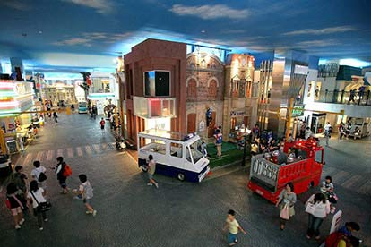 KidZania, Sightseeing Bus Pass, Walking Tour & Thames Boat Ride