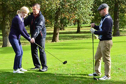 30 Minute Golf Lesson with £5 Voucher for Two