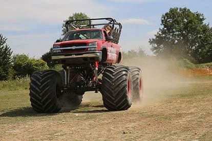 Monster Truck Family Ride for Four