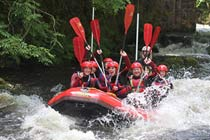 Midweek Rafting Full Session for Six at Canolfan