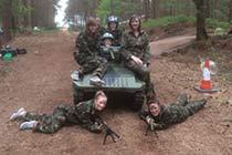 Mini Tank Experience for Two Thumb