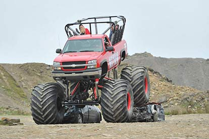 Monster Truck and 4x4 Off Road Passenger Ride