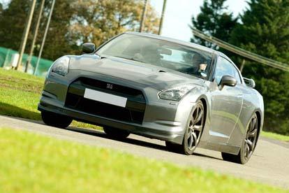 Nissan GTR Vs Aston Martin with High Speed Passenger Ride