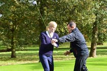 60 Minute Golf Lesson with £5 Voucher for Two Thumb