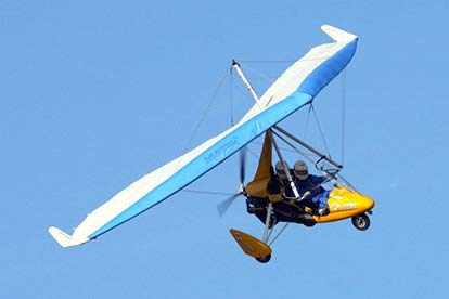 40 Minute Microlight Lesson in Somerset