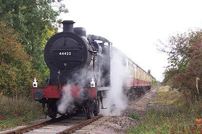 Steam Train Ride with Cream Tea for Two