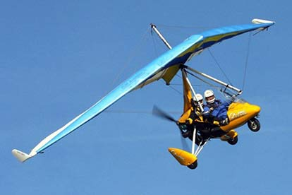 60 Minute Microlight Lesson in Somerset