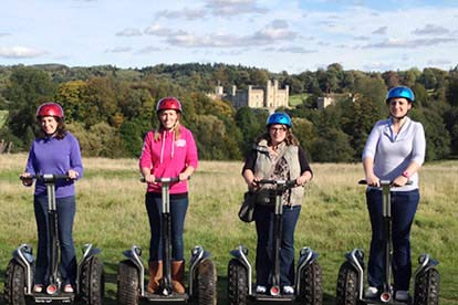 Segway Tour of Leeds Castle for Four