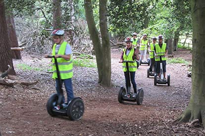 Segway Tour of Upton Country Park