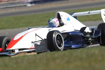 Image of 12 Lap Formula Renault OR Ford Turbo Driving Experience
