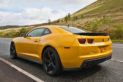 Chevrolet Camaro ZL1 and SS Experience with Lunch for Two