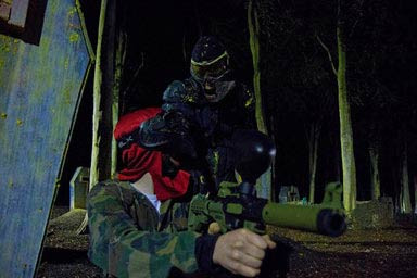 Zombie Paintball for Four Thumb