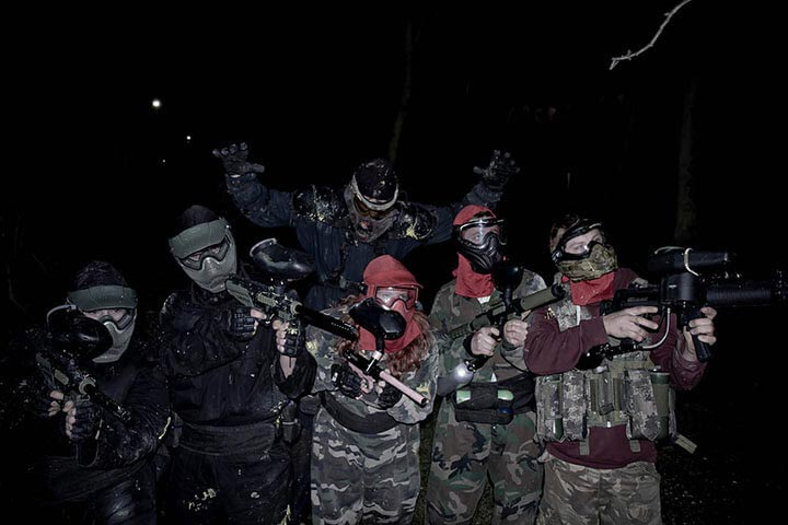 Zombie Paintball for Four