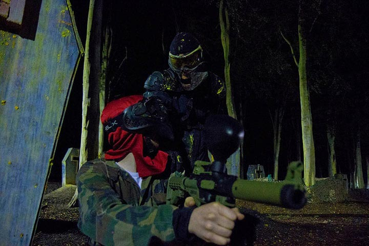 Zombie Paintball for Ten